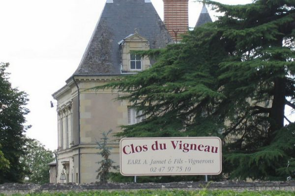 Propriété viticole vendue saint nicolas de bourgueil clos du vigneau (2012)