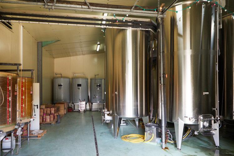 Bâtiment domaine viticole Anjou ref 209